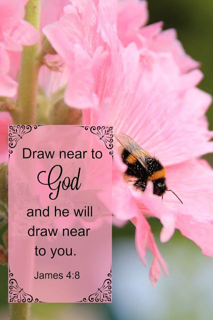 Draw Near To God And He Will Draw Near To You Throughout This