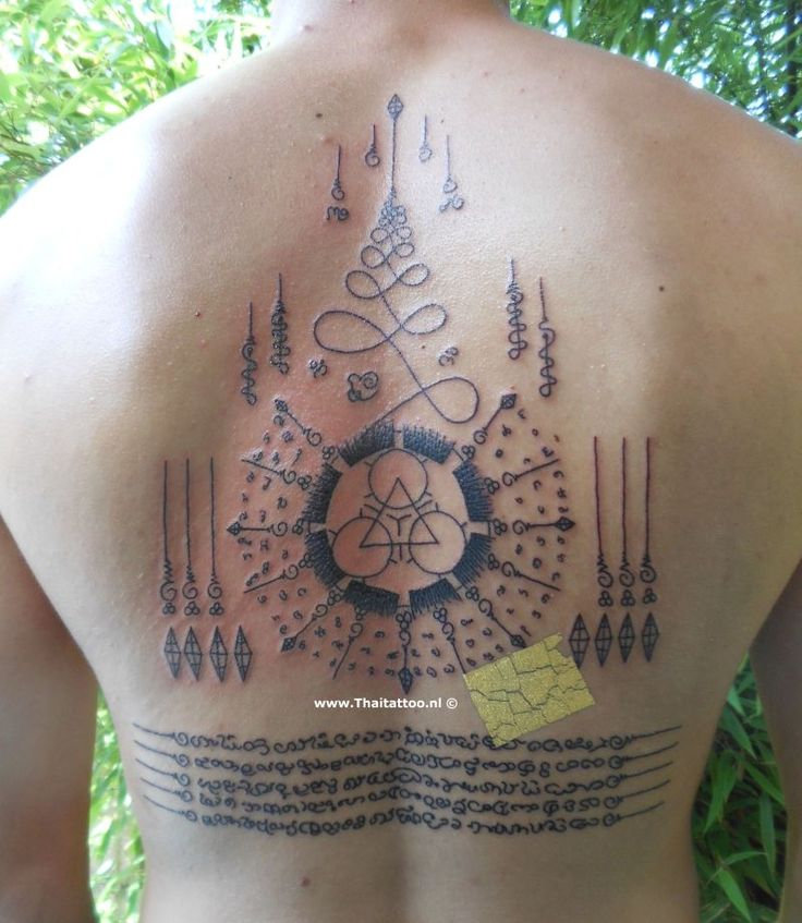 Thai Tattoo Sak Yant Nederland ||Sak Yant and Yantra Tattoo ||