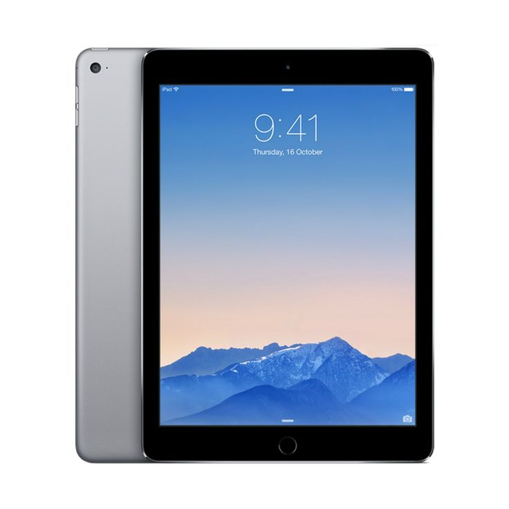 Image of Apple iPad Air 2 16GB WiFi Tablet - Space Gray