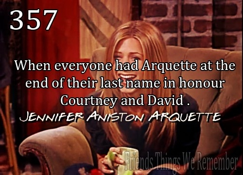 Arquette - friends