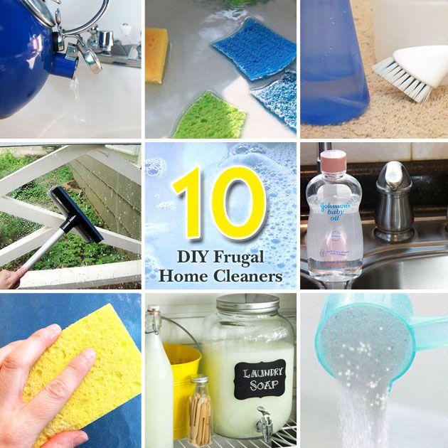10 DIY Frugal Cleaners | Pretty Handy Girl #cleaningtips #DIY #cleaner