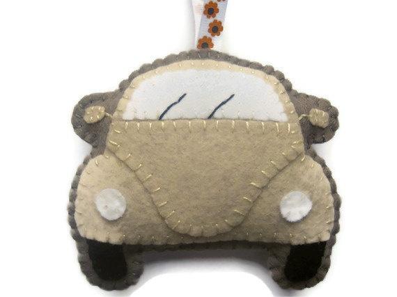 VW Beetle Felt Hanging Decoration £10.00