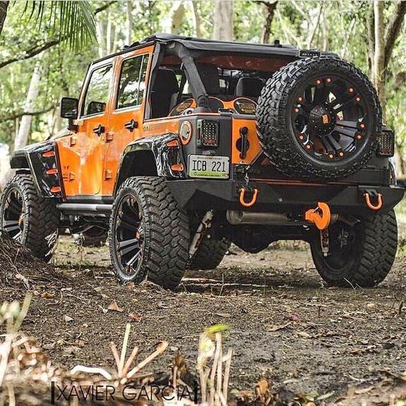 Lifted Jeep. #JeepLife #jeepedin