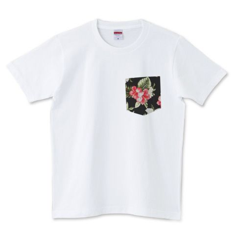 アロハ柄ポケット | デザインTシャツ通販 T-SHIRTS TRINITY(Tシャツトリニティ)