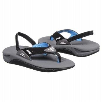 Reef Slap Tod/Pre/Grd Sandals (Grey) - Kids' Sandals - 19.5 M