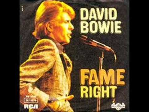 My dad's Favorite song!!!! He used to wake everyone up with this song -__-  David Bowie - Fame