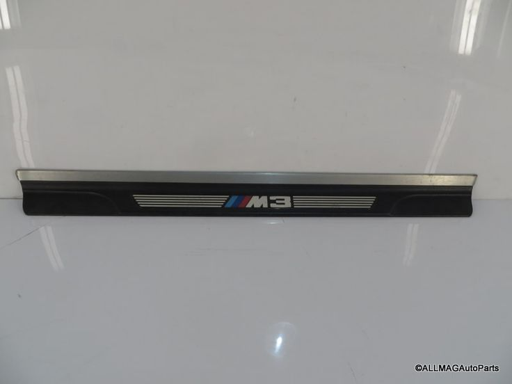 2001-2006 BMW M3 Left Door Sill Entrance Cover Trim Strip 66 51477891927 E46