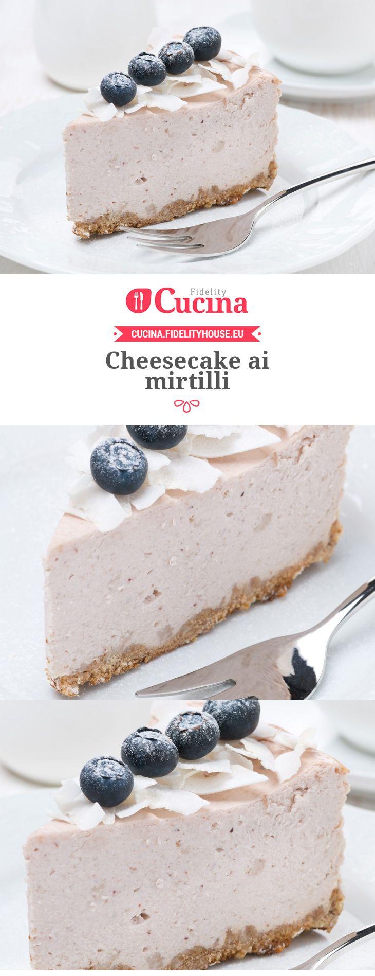 Cheesecake ai mirtilli