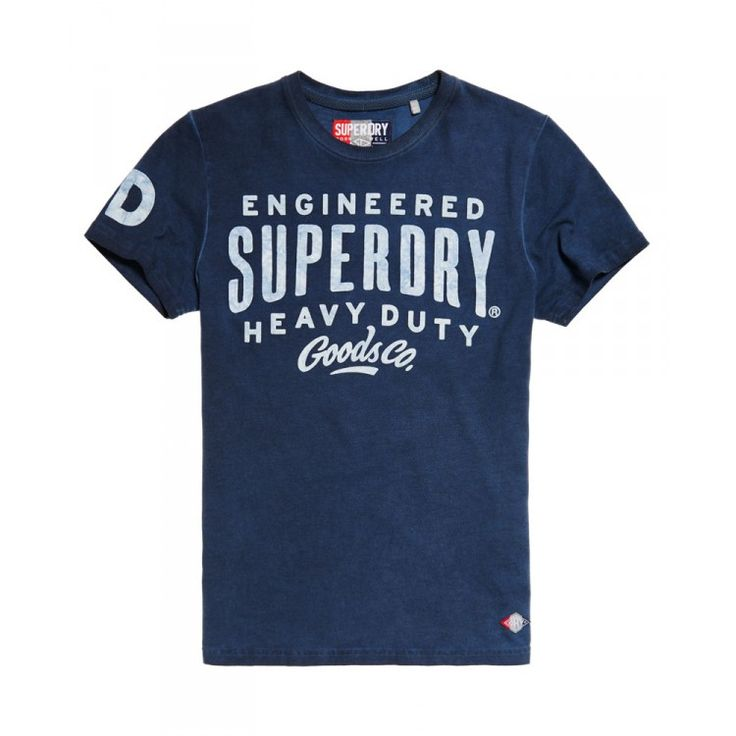 john-andy.com   Superdry Work Wear Over Dyed T-shirt