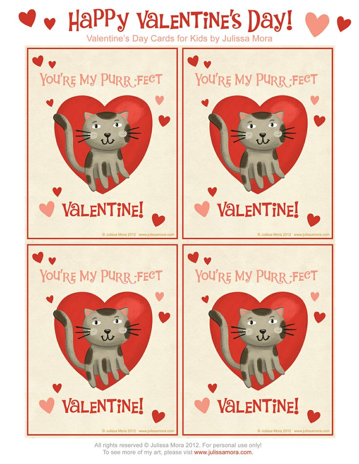 17 best ideas about Printable Valentines Day Cards – Valentine Card Printables Free