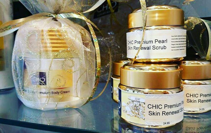 Facial Scrub with pearl powder. Anti-Aging. $24.95 www.chicsoaps.com