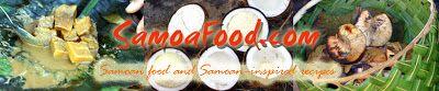 Samoa Food: recipes