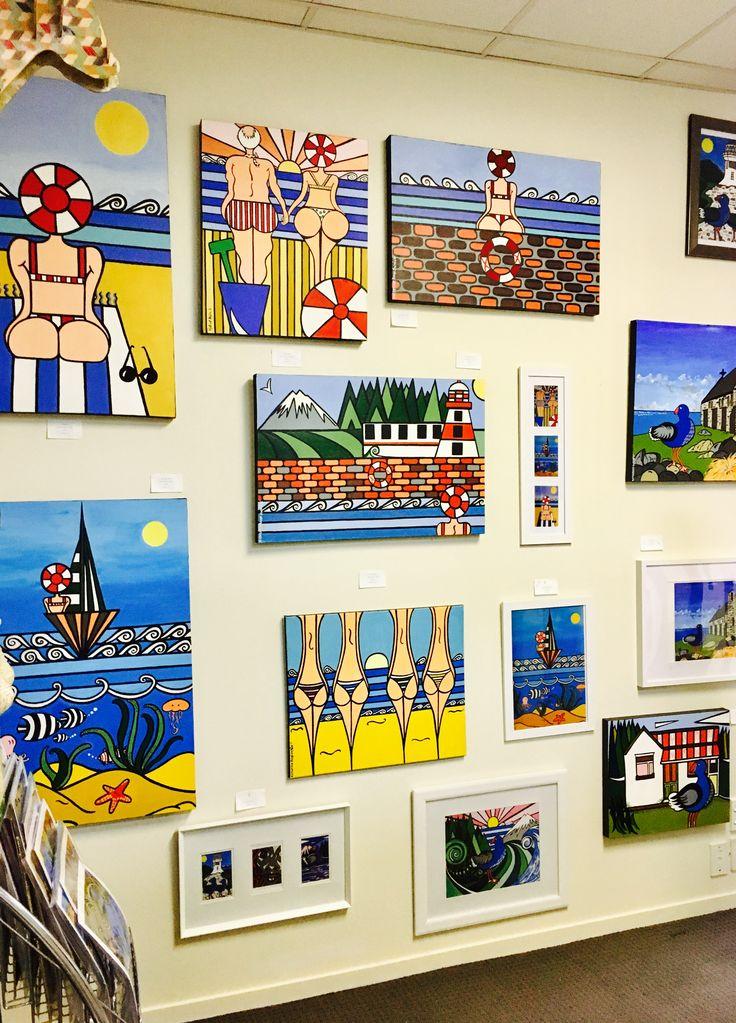 Art work display katherine swain