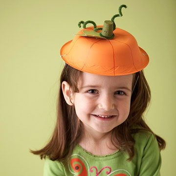 This would be so cute: have them make pumpkin hats hats for the gathering activity. Instead of a class, they're a Pumpkin Patch!