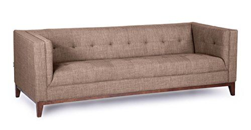 Kardiel Harrison Mid-Century Modern Loft Sofa, French Press Tailored Twill