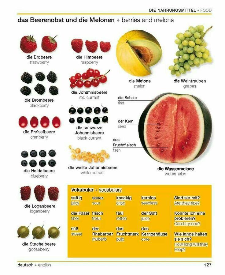 Das Obst - 1B