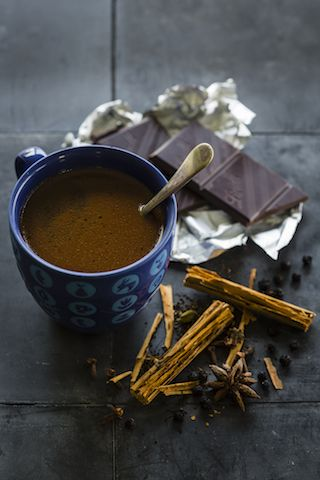 Roasted Wattleseed & Pepperberry Chai Mocha is perfect.  Add a touch of your favourite liqueur & it fairly sings.