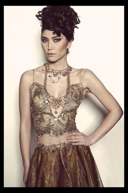 Miss Pearl at Salone della Moda 2013