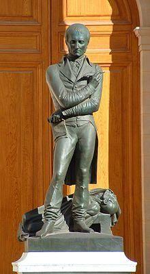 statue de bichat | La Statue de Bichat par David d'Angers dans la cour de l'université ...