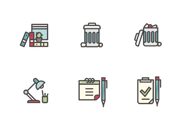 #LineIcons #VectorIcons #officeIcon