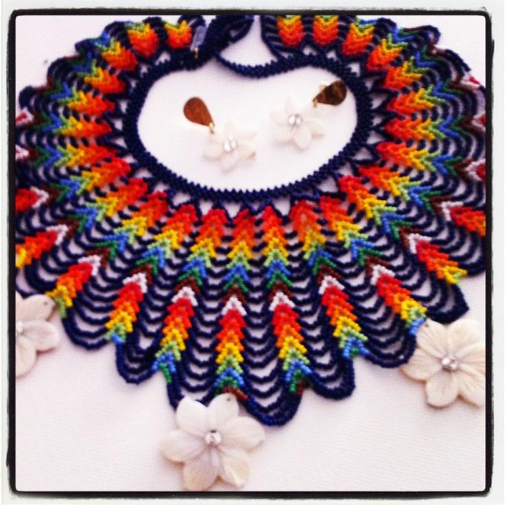 Collar guajiro. #Collares #Necklace #Handmade