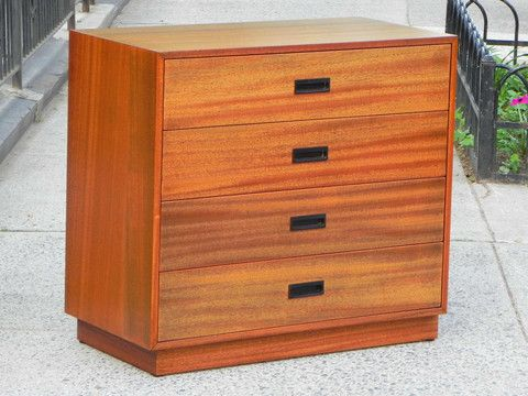 I Like Mike's Mid Century Modern - COMPACT MID-CENTURY DRESSER BY HARVEY PROBBER