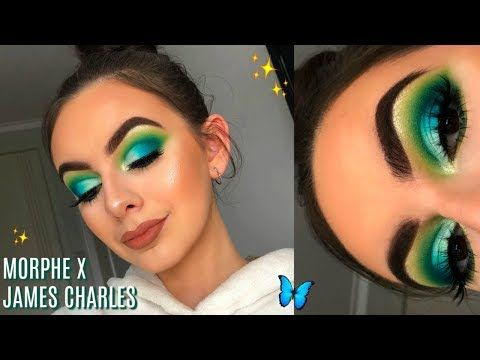 MORPHE X JAMES CHARLES PALETTE TUTORIAL! | First ...
