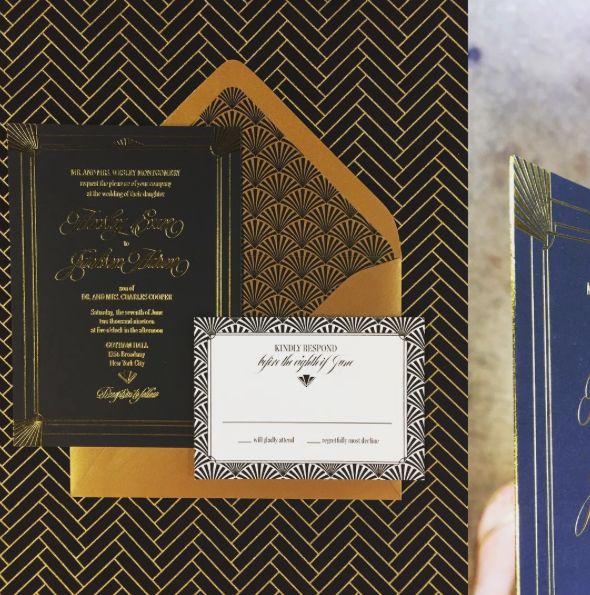 Pavie Wedding Invitation Suite