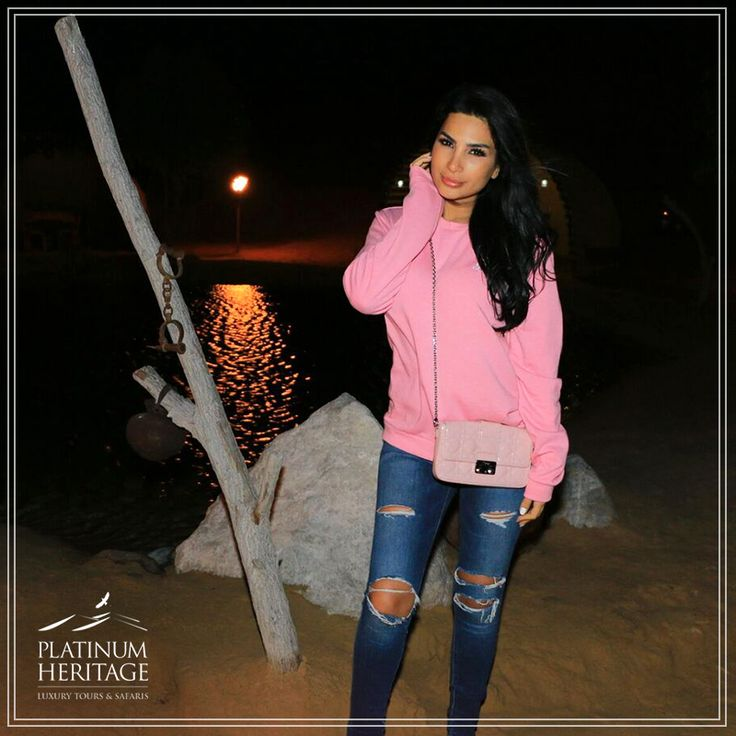 The beautiful Lebanese singer, Shiraz, dinned with us under the stars this weekend at our Platinum Heritage safari. #PlatinumHeritage