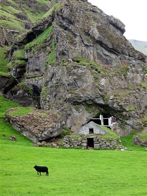 Barn & Very Green Meadows...Iceland