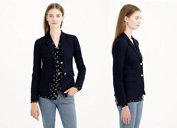 ExtraPetite.com - Thursday Steal: J.Crew Schoolboy blazer for up to 80% off