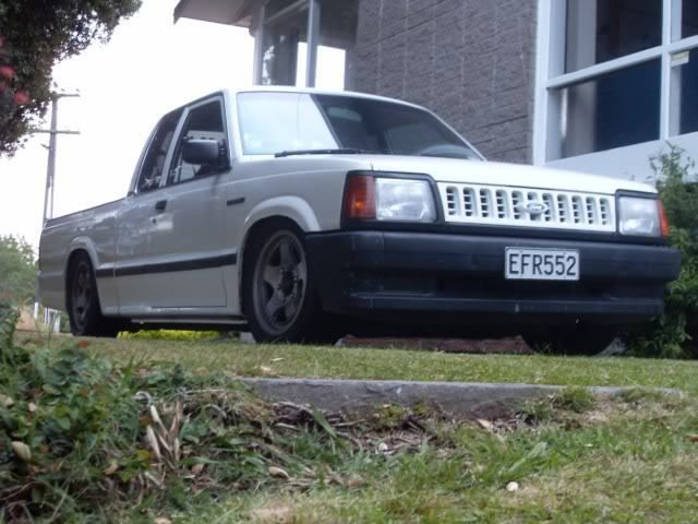 KiwiBen's Ford Courier super slow project - MazdaBScene.com Mazda Truck Owners and Enthusiasts