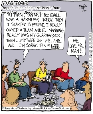 fantasy football group therapy