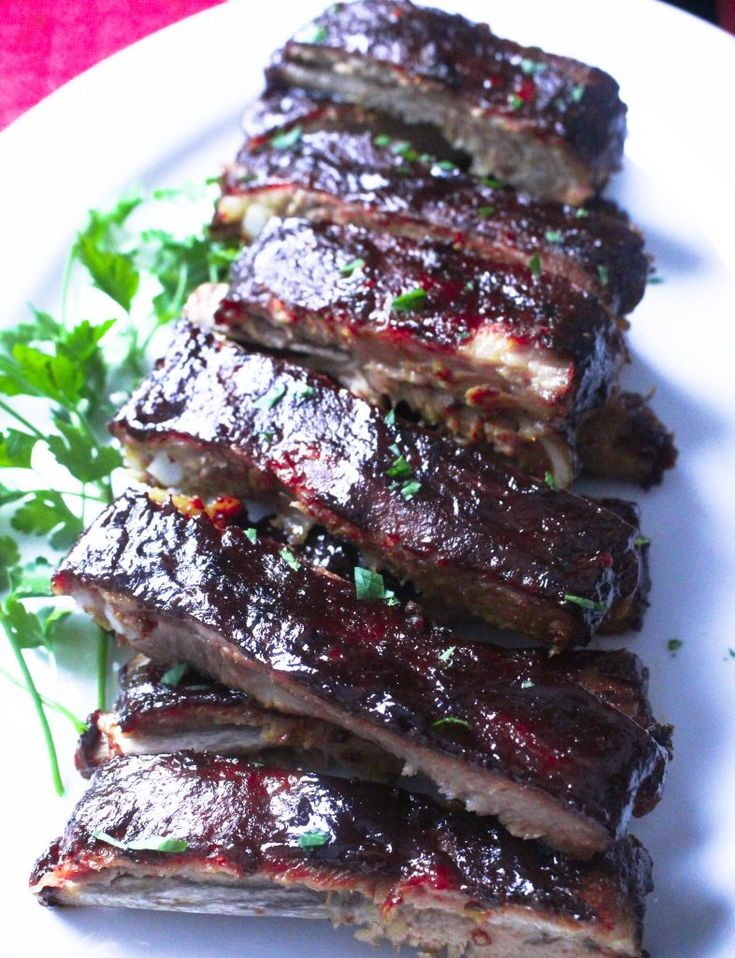 How to make theBEST damn oven baked bbq pork ...the best recipe for southern style oven baked ribs that are simply to die for.