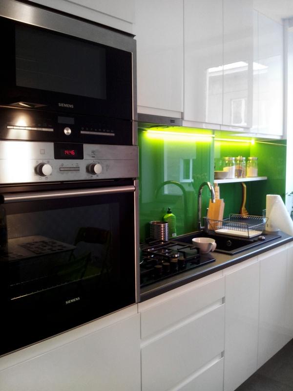 Kitchen in Warsaw by Altro Studio by Altro Studio Projektowanie wnętrz Barba , via Behance