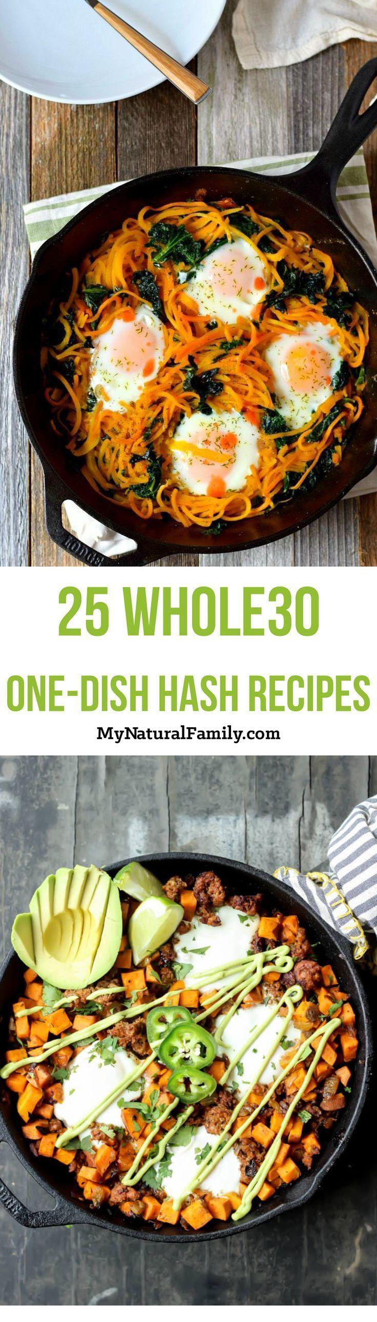 25 Whole30 Breakfast One Dish Hash Recipes