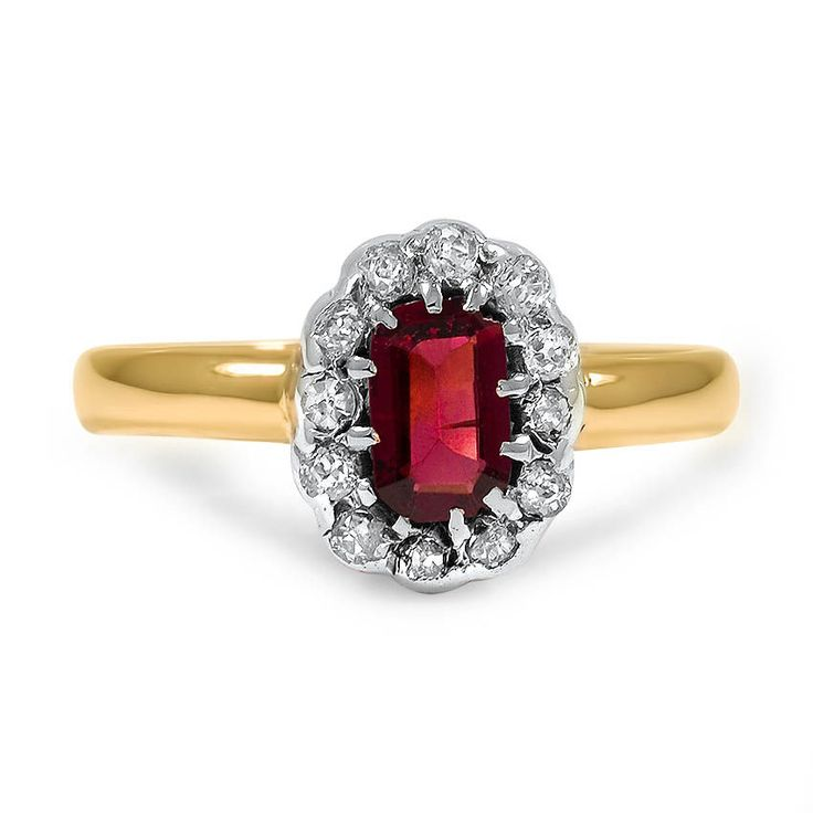 The Falima Ring from Brilliant Earth-this is stunning and just about any gemstone would be gorgeous.  I'm thinking sapphire, emerald, amethyst, opal, garnet or ruby.  *Trisha