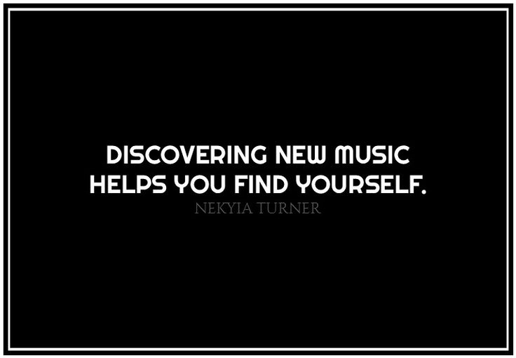 #93 discovering new music...
