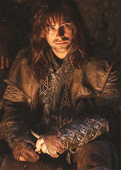 I really liked this scene, because you can see the innocence of Kili and Fili. When you're young you joke about things you shouldn't and you don't know why you shouldn't, you just know that you don't want to disappoint your heroes.:
