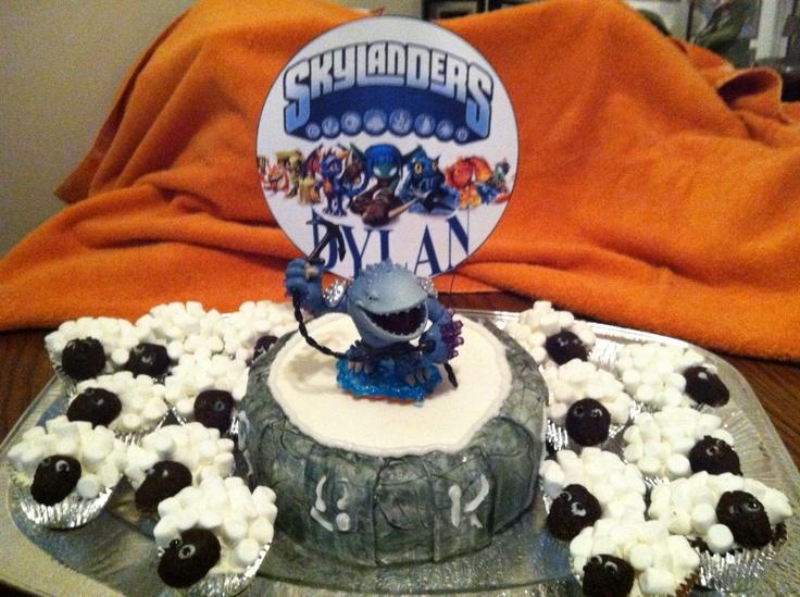 Skylanders Birthday Cake Pictures
