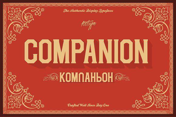 Companion League by Formika Labs on @creativemarket