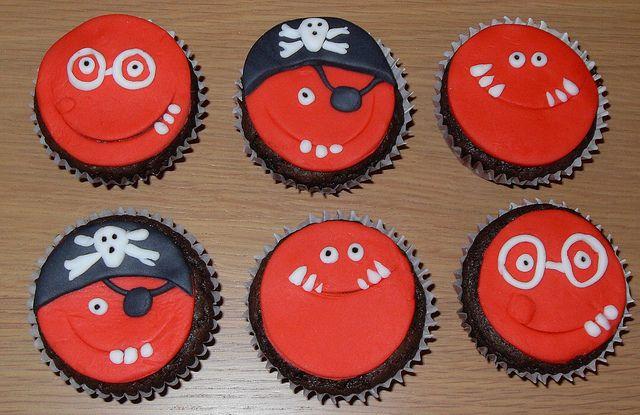 Red Nose Day Cupcakes. | Flickr – Compartilhamento de fotos!