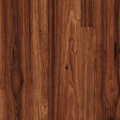 Trafficmaster New Ellenton Hickory 7 Mm Thick X 7 9 16 In Wide X 50 3 4 In Length Laminate