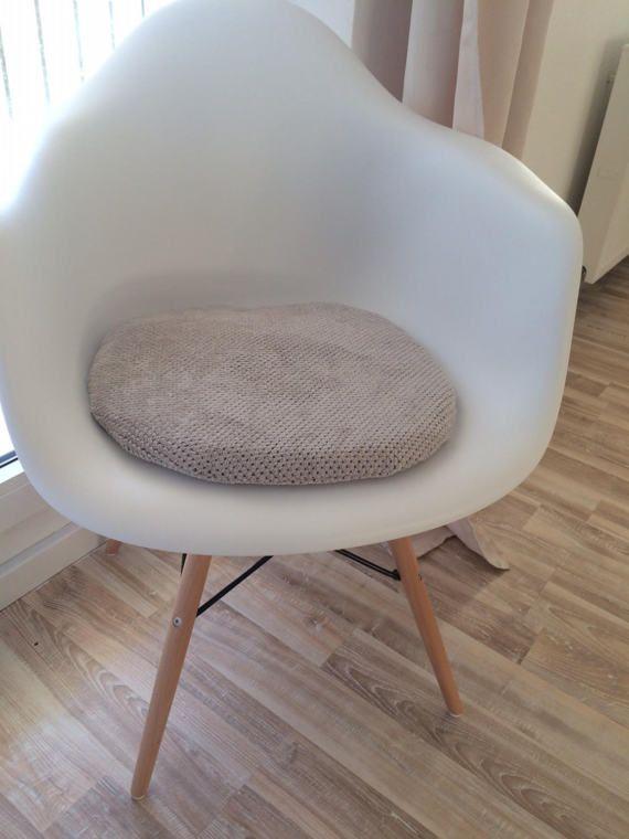 sitzkissen fr eames chair mit reiverschluss von creativebeade - Eames Chair Sitzkissen