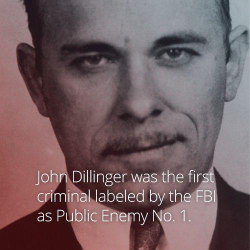 Crimes Of John Dillinger