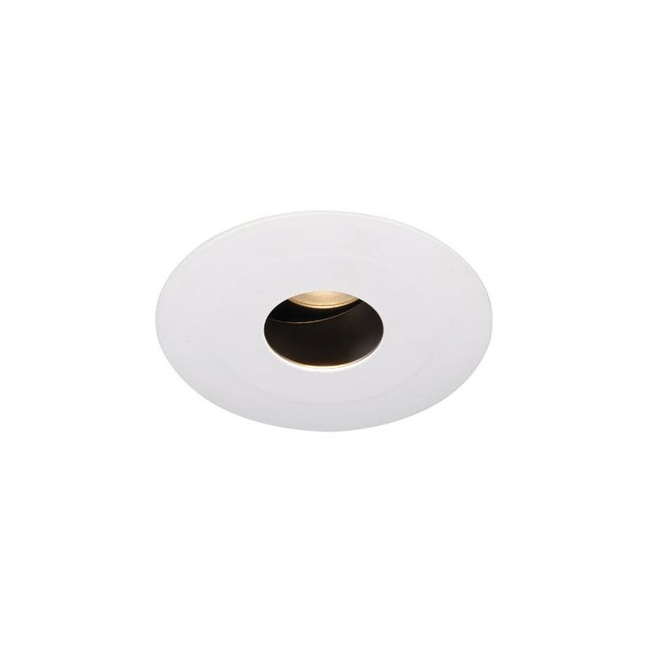 3000K 3in Tesla LED Recessed Lighting Trim with 0 to 30 Degree Adjustable Pinhole (HR-3LED-T618S-W), LED Recessed Lighting Fixtures - Replace Your Recessed Cans & Downlights with LED