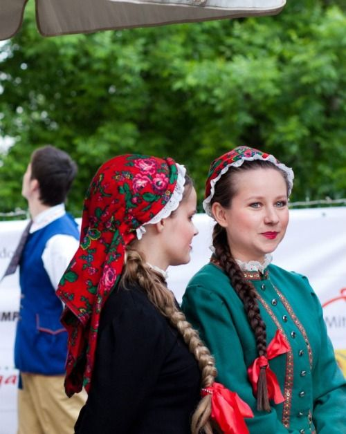 Folk costume from Bytom region, Silesia, Poland.
