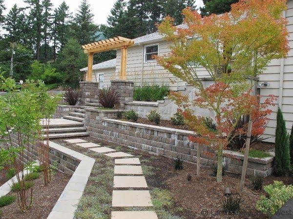 17 best images about retaining wall design on pinterest for Landscape design portland