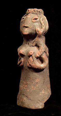 Mohenjo daro breast-offering pose