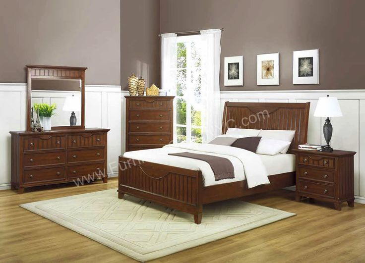The 25 best Cherry wood bedroom ideas on Pinterest Black sleigh